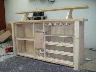 Fabrication Maison D Un Bar En Bois
